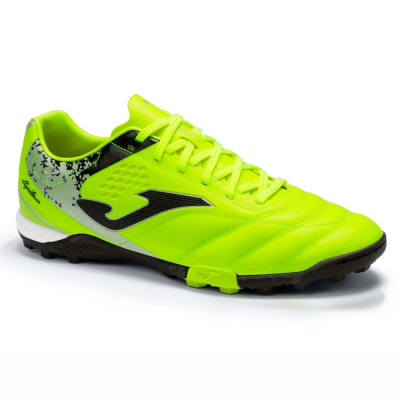 Ghete Fotbal Sintetic Aguila 2109 Lemon Fluor Black Joma