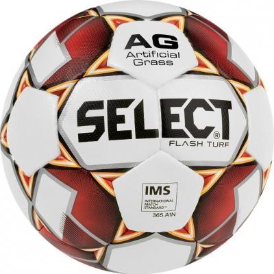 Minge Fotbal Ghete Fotbal Sintetic Select Flash 5 2019 IMS white red orange 14990