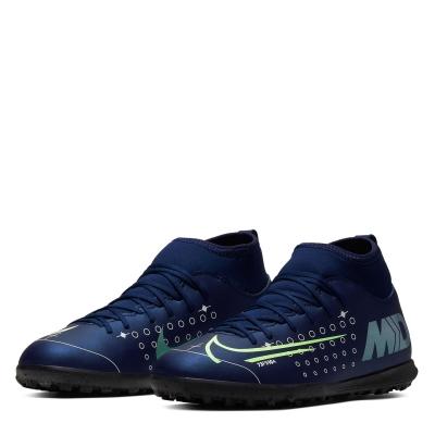 Ghete Fotbal Sintetic Nike Mercurial Superfly Club DF Junior