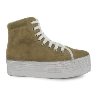 Tenisi inalti Jeffrey Campbell Homg Suede Wash