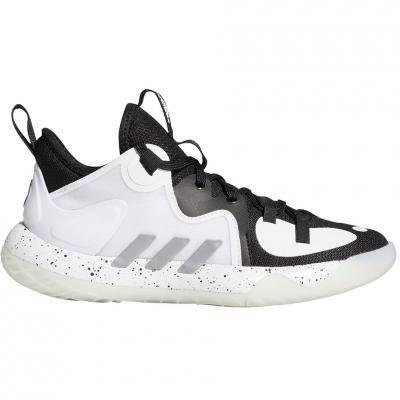 Pantofi sport 's adidas Harden Stepback 2 J white and black FZ1545 Copil