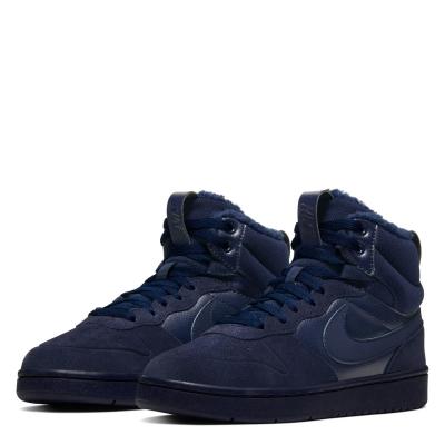 Adidasi Sport Nike Court Borough Winter de baieti Junior