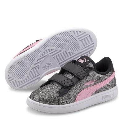 Adidasi Sport Puma Smash v2 Glitz de Copii