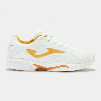 T.ace Pro 2002 White-gold All Court pentru Femei Joma