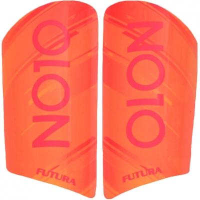 NO10 Futura football protectors orange red