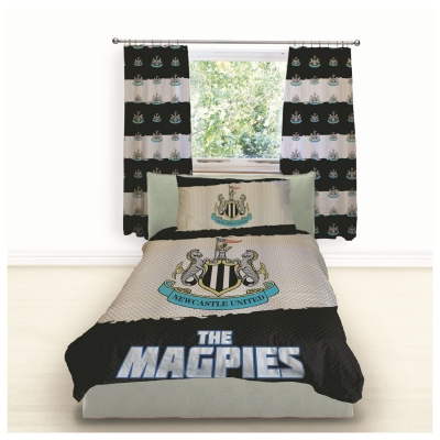 NUFC Single Magpies Duvet