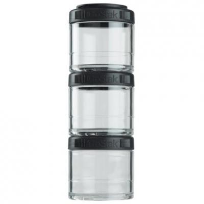 Blender Bottle GoStaks 3x100ml black 500945
