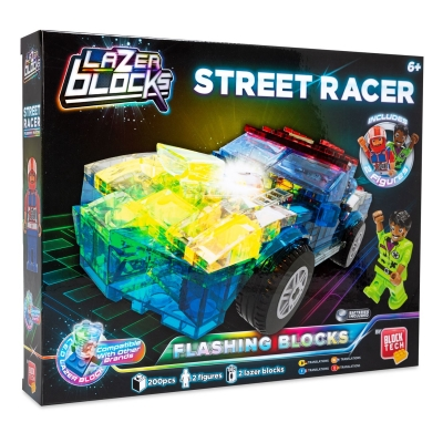 Block Tech Tech Racing Car