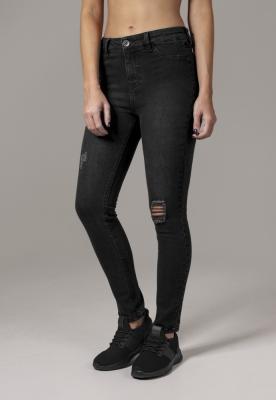 Pantaloni High Waist Skinny Denim pentru Femei Urban Classics
