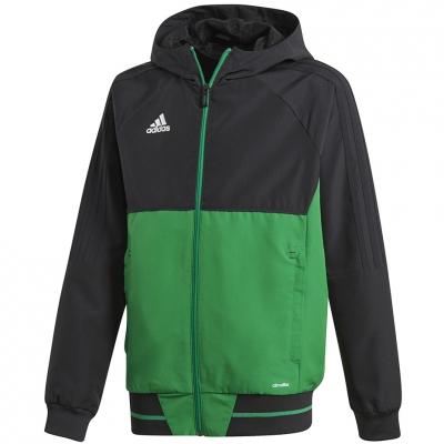 Bluze trening adidas TIRO 17 JR black-green BQ2788 adidas teamwear