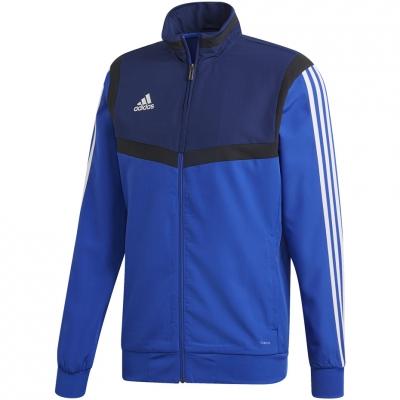 Bluze trening adidas Tiro 19 PRE JKT blue DT5266 adidas teamwear