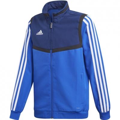 Bluze trening adidas Tiro 19 Presentation JKT JR blue DT5268 adidas teamwear