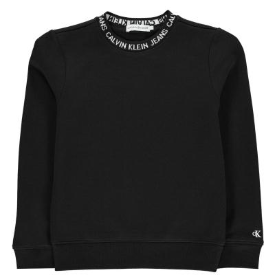 Bluze trening Calvin Klein Insitutional Logo de baieti Junior