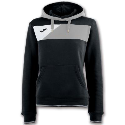 Bluze trening Hanorace Crew Ii Black-grey pentru Femei Joma