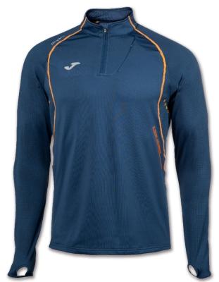 Bluze trening 1/2 Zip Running Navy Joma