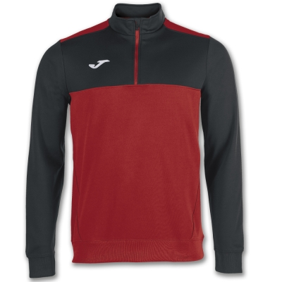 Bluze trening 1/2 Zipper Winner Red-black Joma