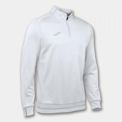 Bluze trening Campus Ii 1/2 Zipper White Joma