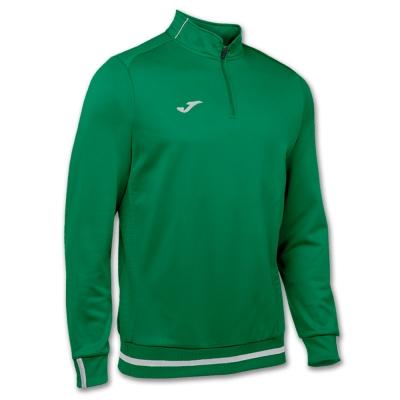 Bluze trening Campus Ii 1/2 Zipper Medium Green Joma