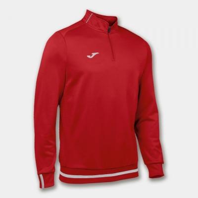 Bluze trening Campus Ii 1/2 Zipper Red Joma