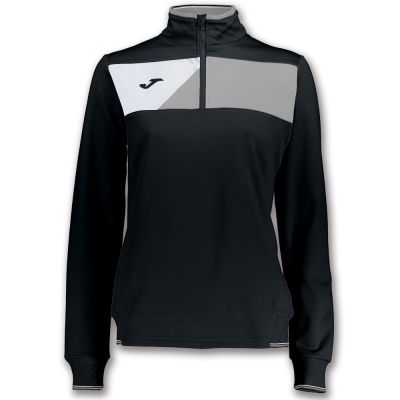 Bluze trening Crew Ii Black-grey pentru Femei Joma