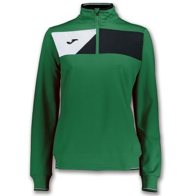 Bluze trening Crew Ii Green-black pentru Femei Joma