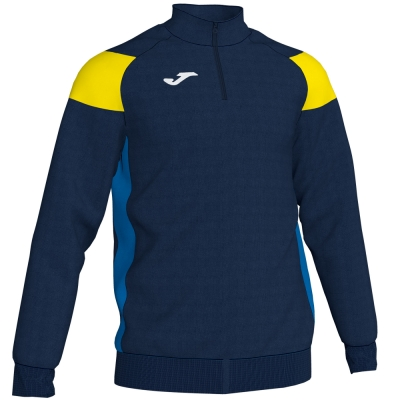 Bluze trening Crew Iii Dark Navy-yellow-royal Joma