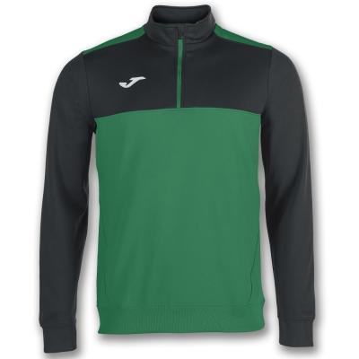 Bluze trening 1/2 Zipper Winner Green-black Joma
