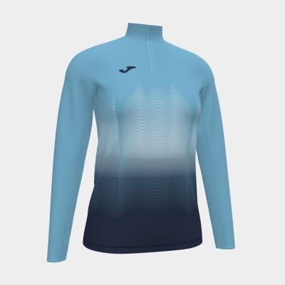 Bluze trening Elite Vii Fluor Turquoise-dark Navy Joma