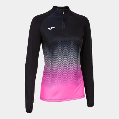 Bluze trening Elite Vii Black-fluor Pink-white Joma