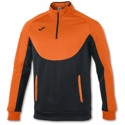 Bluze trening Essential 1/2 Zipper Orange-black Joma