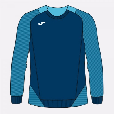 Bluze trening Essential Ii Dark Navy-fluor Turquoise Joma