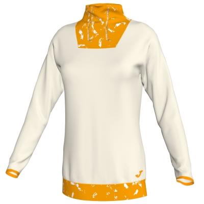 Bluze trening Neck Electra Offwhite-mustard pentru Femei Joma