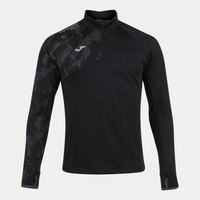 Bluze trening RacO 1/2 Zipper Black Joma