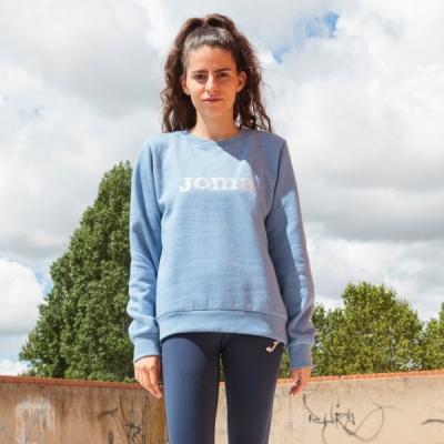 Bluze trening Symi Blue Melange pentru Femei Joma