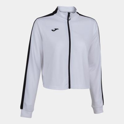Bluze trening Bluza cu fermoar Torneo White Black Joma