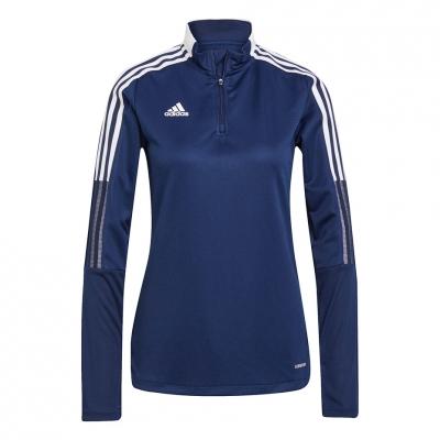 Bluze trening for adidas Tiro 21 Training Top navy blue GK9660 pentru Femei adidas teamwear