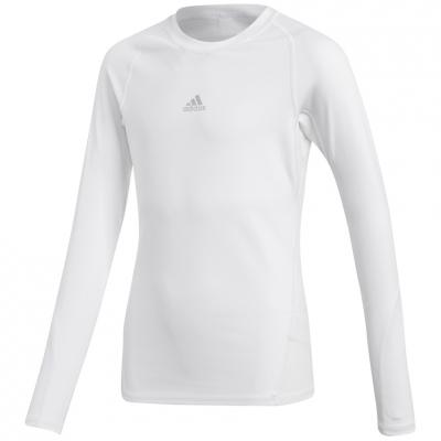 Tricouri Adidas Alphaskin Sport LS white CW7325 Junior adidas teamwear