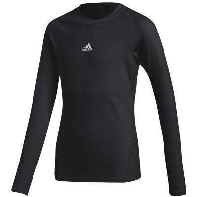 Tricouri Adidas Alphaskin Sport LS black CW7324 Junior adidas teamwear
