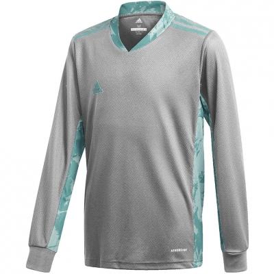 Adidas AdiPro 20 Portar Jersey Youth Longsleeve Portar jersey Youth Longsleeve gray-blue FI4197 adidas teamwear