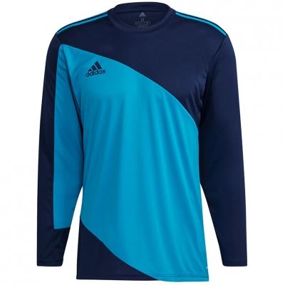 Men's Portar jersey Men's adidas Squadra 21 Portar Jersey blue-navy GN6944 adidas teamwear
