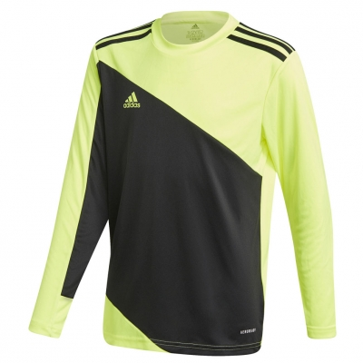 Adidas Squadra 21 Portar Jersey Youth ' jersey black and lime GN5794 pentru Copil adidas teamwear