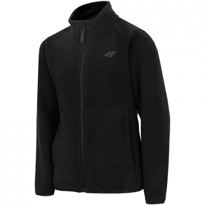 Bluze Boy's 4F black HJZ20 JPLM001 21S
