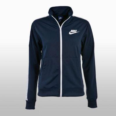 Bluza albastra trening cu fermoar Nike Femei