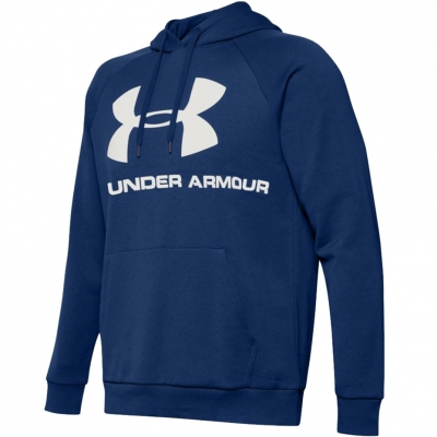 Bluze Hanorace Men's Under Armor Rival Logo blue 1345628-449 Under Armour