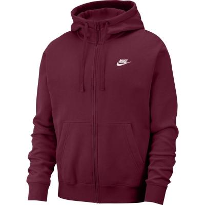 Bluze Hanorace Nike Sportswear Club Full-Zip pentru Barbati