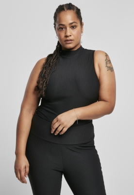 Sleeveless Rib Turtleneck Body pentru Femei Urban Classics