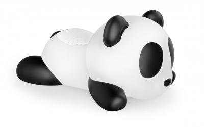Boxa Portabila Luminoasa Bluetooth Sleeping Panda Bigben, 33 Cm