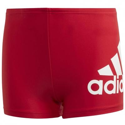 Boxeri Pantaloni scurti pentru baie Adidas YA Bos red GE2030 's Copil Adidas