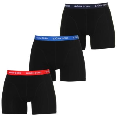 Boxeri Bjorn Borg 3 Pack Contrast
