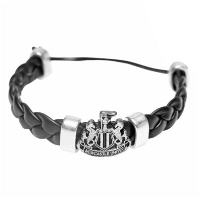 NUFC PU Cross Bracelet